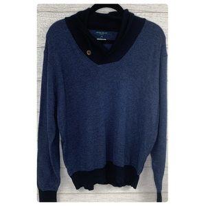 Peter Milar Shawl Pullover Sweater